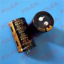 1PCS ELNA AUDIO Electrolytic Capacitor size: 30*50mm 10000UF63V/63V10000UF