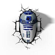 Star Wars 3d R2d2 Light Wandlampe
