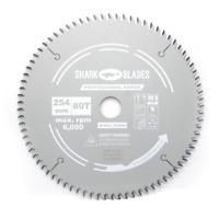 Shark Blades Pro TCT Circular Saw Blade 254mm x 30 x 80 Teeth fits Freud Bosch
