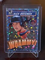 2020 Panini Donruss Alex Bregman Whammy SP Rare Insert Houston Astros