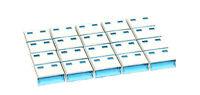 Lindy USB Port Blockers/Locks (no key) -Value Pack of 20, Colour Code:Blue 40462