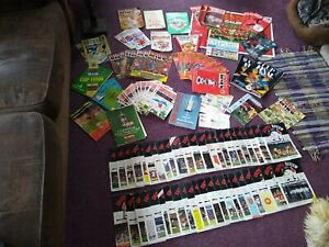 MANCHESTER UNITED PROGRAMMES 70s & 80s approx 125 items