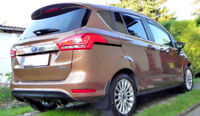 FOR FORD B-MAX SPOILER COVER DOOR