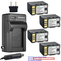 Kastar Battery AC Charger for JVC BN-VF823 BN-VF823U JVC BN-VF923 BN-VF923U
