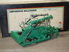 Amphibious Bulldozer van Shinsei Mini Power 4136 Japan 1:60 in Box *9742