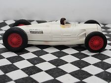 SCALEXTRIC 1960'S AUTO UNION TYPE C  WHIT MM/C   1.32  USED UNBOXED VERY RARE