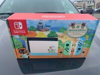 Nintendo Switch Console 32GB Animal Crossing New Horizons Edition Ship Fast