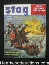 Stag Oct 1959 James Bama, Copeland, Rafael Desoto, Kunstler Navy Seals Cvr - Ult