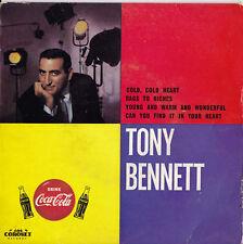 TONY BENNETT Cold, Cold Heart EP  Coca-Cola    SirH70