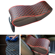 Universal Car Armrest Pad Cover Center Console PU Leather Cushion Protector New