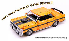 1971 Ford Falcon XY GTHO Phase *INSTRUCTIONS ONLY* PDF Lego Technic Instructions