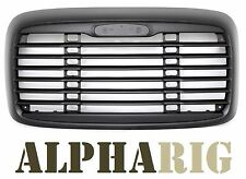 2000-2008 OE STYLE BLACK GRILLE W/O BUG SCREEN Freightliner Columbia RARE