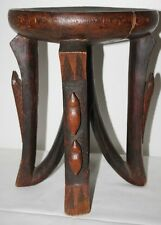 African Wood Stool  -  FREE Postage [PP-128 ]