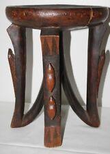 Sgabello in legno africano-SPEDIZIONE GRATUITA [PP-128]