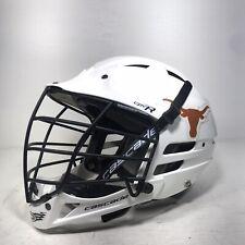 New listing Cascade Lacrosse Helmet CPV-R White Size S/M Longhorns