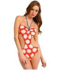 NWT MARC JACOBS XS swimsuit monokini bikini bandeau sexy runway designer HOT