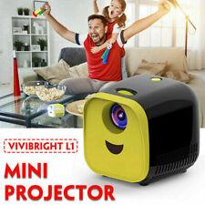 1000 Lumens LED Video Projector Full HD 1080P Multimedia 3D Home Movie HDMI USB