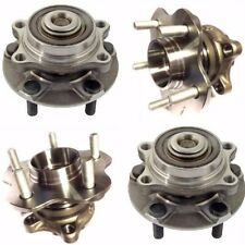 2 FRONT 2 REAR WHEEL HUB BEARING ASSEMBLY FOR 2003-2009 NISSAN 350Z 2/AWD
