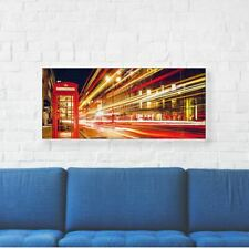 """London Printed Canvas Art 16"""" (40cm) x 10"""" (25cm) Beautiful For Home"""