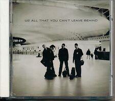U2 All That You Can't Leave Behind - U2 CD