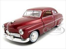 1949 MERCURY RED 1:24 DIECAST MODEL CAR BY MOTORMAX 73225