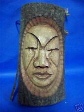 """Tree Wood Carving Face 10"""" x 5"""""""