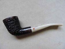 Moretti Pipe Fantastic Black Rusticated Freehand