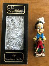 "Disney's ""Pinocchio"" 1996 Christopher Radko Ornament New in Original Box Gallery"