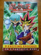 Yu Gi Oh DVD, 3 complete volumes