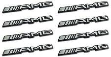 8x AMG Sticker Emblem Logo Aufkleber Mercedes C CL CLS E S SL SLK ML GL B 63 GLE