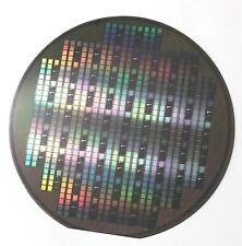 "Rare Incomplete Silicon Wafer - Ramtron FM1608 FRAM - FeRAM,6"",150mm,1994"