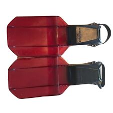 ScubaPro Sea wing scuba Diving Fins Size Large red And Black