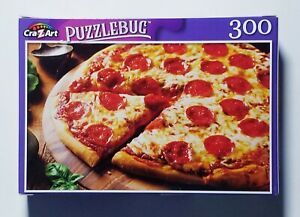 Hot Pepperoni Pizza Puzzlebug 300 piece Brand New Free Shipping