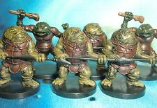 Dungeons & Dragons Miniatures Lot  Bullywug Guard Bullywug Thug !!  s112
