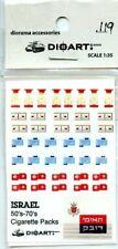 Dioart 1:35 Israel 50's-70's Cigarette Packs Diorama Accessory #119