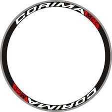 CORIMA MCC Carbon Wheels Rim Decals Stickers Replacement Kit FOR TWO RIMS 700C