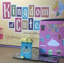 Disney Parks Kingdom Of Cute Vinylmation - Popcorn Figure + 2 Park Maps.