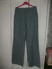 STYLISH & TRENDY DENIM MISSONI TROUSERS, SIZE 10, MADE IN ITALY