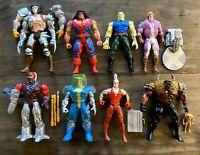 Uncanny X-Men Vintage Toybiz Marvel Figures Lot 90s Wolverine Cannonball Warpath
