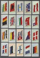 1928 John Player & Sons Flags of the League Nations Tobacco Cards Complete Set