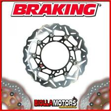WK102L FRONT BRAKE DISC SX BRAKING TRIUMPH SPEED TRIPLE ABS 1050cc 2011 WAVE FLO