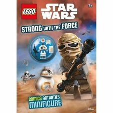 LEGO Star Wars: Strong with the Force (Activity Book with Minifigure) New