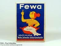 Reklame FEWA Chemnitz HENKEL Waschmittel Waschpulver50g OVP ~ 1938-1945 2.WK WH