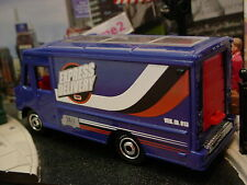 2014 CITY WORKS Design EXPRESS DELIVERY☆Blue/White Express;24/7☆LOOSE☆Matchbox