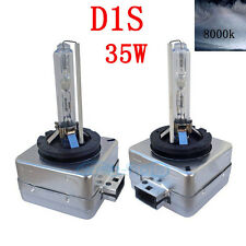 2X 8000k D1S AM HID AC Xenon Headlight Bulb For Audi A4 Avant 2002-2006