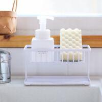 Kitchen Sponge Sink Tidy Holder Storage Rack Suction Strainer Organizer Rack New