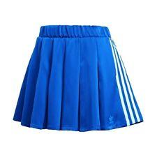 Adidas Originals Fashion League Skirt 3Streeps Rock Fitness Woman blau
