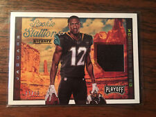 2017 PANINI PLAYOFF DEDE WESTBROOK ROOKIE STALLION KICKOFF RELIC #27/49 JAGS