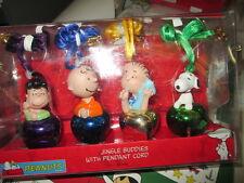 Peanuts Jingle Buddies With Cord, 4-piece Set