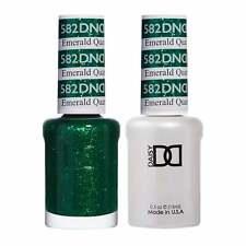 DND Duo Gel & Nail Polish Set - Emerald Quartz 582 - 2x15ml